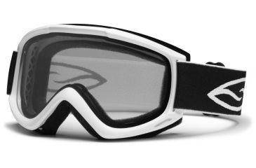 Smith Optics Cascade Classic (New) Goggles - White Frame, Clear Lenses CN2CWT12