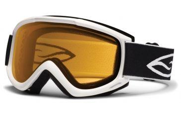 Smith Optics Cascade Classic (New) Goggles - White Frame, Gold Lite Lenses CN2LWT12