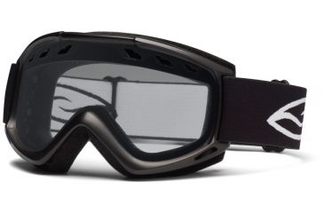 Smith Optics Cascade (New) Goggles - Black Frame, Clear Lenses CS3CBK12
