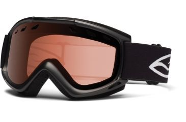 Smith Optics Cascade (New) Goggles - Black Frame, Rc36 Lenses CS3EBK12