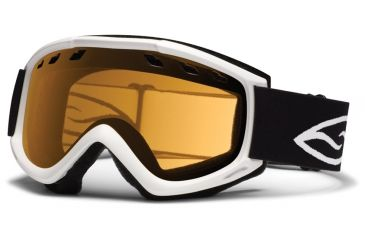 Smith Optics Cascade (New) Goggles - White Frame, Gold Lite Lenses CS3LWT12
