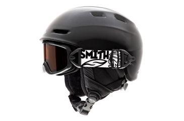 Smith Galaxy / Cosmos Helmet/Goggles, Black, RC36 Lens, Helmet Size, Youth HKT-CGBKY