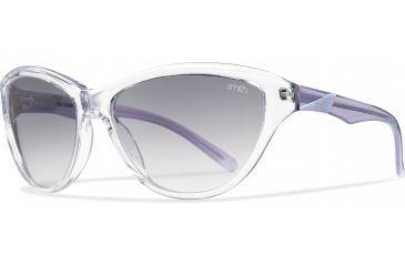Smith Optics Cypress Sunglasses - Crystal Lilac Frame, Gray Gradient Lenses CYCRGYGLI