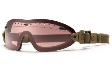 Smith Optics Elite Boogie Sport Asian Fit Goggle, Tan 499 Strap, Ignitor BSPT499IG13A