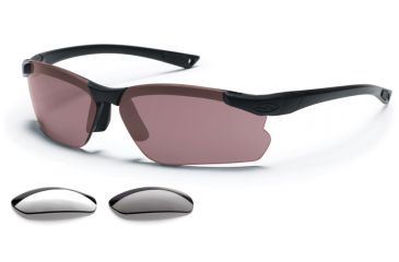 ecbbc41d24d Smith Optics Elite Factor Tactical Sunglasses Range Kit -  Gray Clear Ignitor lenses