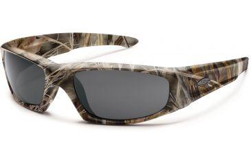 Smith Optics Elite Hudson Tactical Sunglasses, Realtree Max 4, Gray HUTPCGYMX4