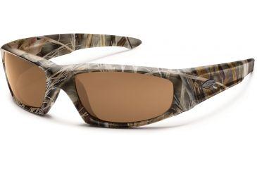 Smith Optics Elite Hudson Tactical Sunglasses, Realtree Max 4, Polar Brown HUTPPBRMX4