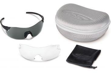 Smith Optics Elite Pivlock V2 Tactical Sunglasses, Black, Gray, Clear PVTPCGYBK