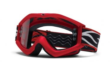 Smith Optics Evo MotoSport Goggles - Red