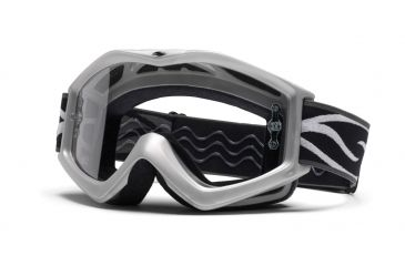 Smith Optics Evo Racer Pack Goggles - Silver