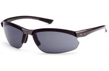 Smith Optics Factor Max Sunglasses - Black frame, Polarized Gray lens