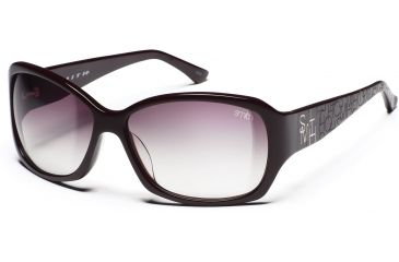 Smith Optics Fixture Sunglasses - Dark Eggplant Frames, Rose Gradient Lenses