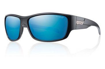 Smith Optics Frontman sg, Matte Black/pol Blue Mirror chrom lens FNRPUGMMB