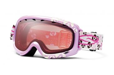 Smith Gambler Graphic Snow Goggles - Pink Floral Frame, Ignitor Mirror Lens