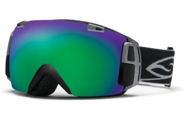 Smith Optics I/O Recon Goggles - Blk Frame, Grn Sol X Mirror And Blue Sensor Mirror Lenses IR7NXBK12