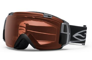 Smith Optics I/O Recon Goggles - Black Frame, Polarized Rose Copper, Red Sensor Mirror Lenses IR7EPBK12