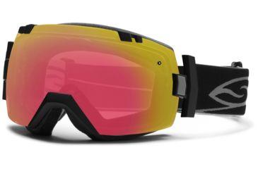 Smith Optics I/OX Snow Goggles - Black Frame w/ Blackout and Red Sensor Lens IL7BKBK13