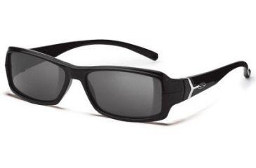 Smith Optics Interchange Crossroad Sunglasses - Black frame, Polarized Gray lens