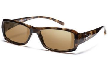 Smith Optics Interchange Crossroad Sunglasses - Tortoise frame, Polarized Brown lens