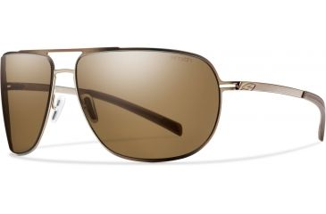 Smith Optics Lineup Sunglasses - Matte Brown Frame, Polarized Brown Lenses LPPPBRGD