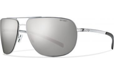 Smith Optics Lineup Sunglasses - Matte Silver Frame, Polarized Platinum Lenses LPPPGYMSV
