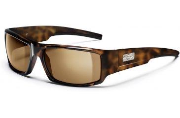 Smith Optics Lock Wood Sunglasses - Tortoise Frames, Polarized Brown Lenses