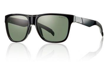 Smith Optics Lowdown sg, Black/pol Gray grn chrom lens LDRPGNBK