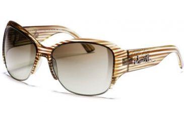 Smith Optics Lullaby Sunglasses - Brown Stripe frames, Brown Gradient lenses