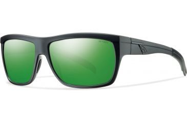 Smith Optics Mastermind Sunglasses, Matte Black/Green Sol-X Carbonic TLT Lenses MMPCGMMB