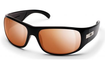 2820ba36aca98 Smith Optics Mogul Sunglasses with Black frames and Copper Mirror lenses