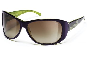Smith Optics Novella Sunglasses - Violet Green Frames, Brown Gradient Lenses