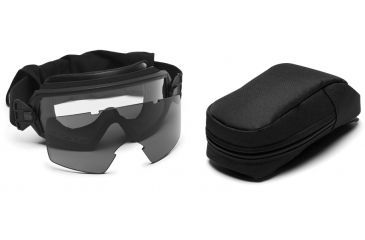 Smith Elite Outside The Wire Goggles w/ Gray Spare Lens, Black Frame OTW01BK12-2R