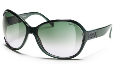 Smith Optics Palace Sunglasses - Metal Petroleum Frames, Green Gradient Lenses
