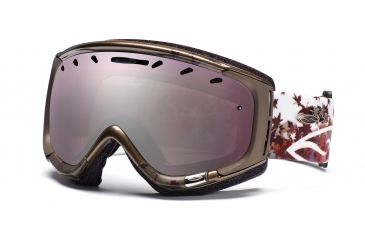 Smith Phase Goggles, Bronze Fallen, Ignitor Mirror PZ6IZF11