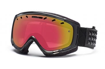 Smith Phase Goggles, Gunmetal Warrior, Red Sensor Mirror PZ6RZMW11