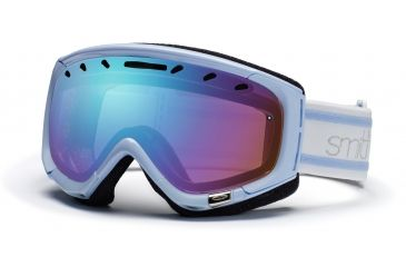 Smith Phase Goggles, Petal Blue Bristol, Sensor Mirror PZ6ZBB11
