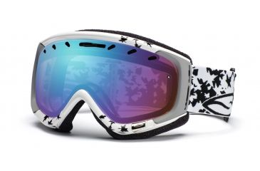 Smith Phase Goggles, White/Black Fallen, Sensor Mirror PZ6ZWF11