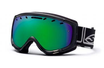 Smith Phenom Goggles, Black Foundation, Green Sol X Mirror PH6NXFK10