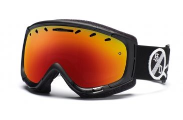 Smith Phenom Goggles, Black One Percenter, Red Sol X Mirror PH6DXKP11