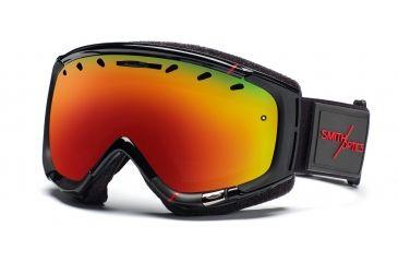 Smith Phenom Goggles, Black/Red Truetype, Red Sol X Mirror PH6DXKTT11