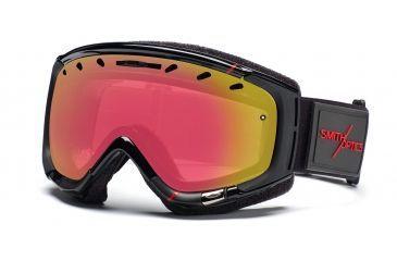 Smith Phenom Goggles, Black/Red Truetype, Red Sensor Mirror PH6RZKTT11