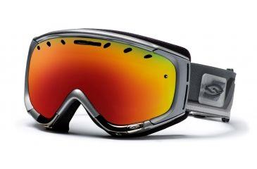 Smith Phenom Goggles, Chrome Max, Red Sol X Mirror PH6DXCM10