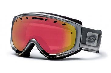Smith Phenom Goggles, Chrome Max, Red Sensor Mirror PH6RZCM10