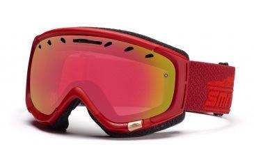 Smith Phenom Goggles, Ember Legacy, Red Sensor Mirror PH6RZEL11