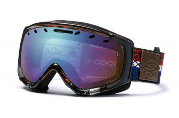 bc0e23762c1 Smith Optics Phenom Ski Goggles - Tortoise Instamatic - Sensor Mirror Lens