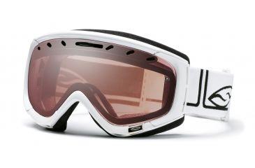 Smith Optic Phenom Goggle - White Foundation frame - Ignitor Mirror Lens