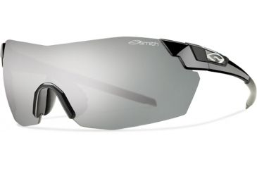 Smith Optics Pivlock V2 Max Sunglasses - Black Frame, Platinum,Ignitor,Clear Lenses VWMPCGYMBK