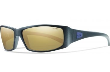 Smith Optics Proof Sunglasses - Matte Black Frame, Polarized Gold Mirror Lenses PRPPGDMMB