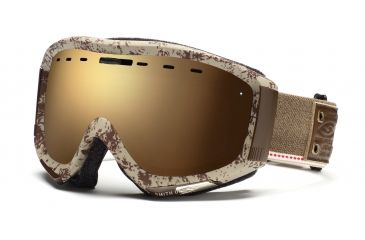 Smith Prophecy Goggles, Classic Brown Mill & Union, Gold Sol X Mirror PR6SMBM11