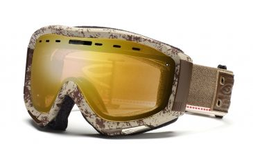 Smith Prophecy Goggles, Classic Brown Mill & Union, Gold Sensor Mirror PR6GMBM11